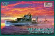 ORP (ex HMS) Garland 1944 G-class Destroyer #IBG70007