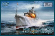 HMS Glowworm 1938 British G-class destroyer #IBG70008