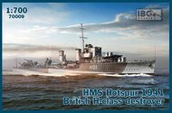 IBG Models  1/700 HMS Hotspur 1941 British H-class destroyer IBG70009