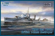 IBG Models  1/700 HMS Ilex 1942 British I-class destroyer IBG70011