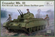 Crusader Mk.III Anti Aircraft Tank with 20mm Oerlikon Guns #IBG72070