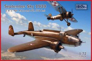 September Sky 1939 - 2 in 1 - PZL 37B and PZL P.11a #IBG72528