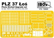 PE Upgrade set for PZL P.37 Los #IBG72IN09