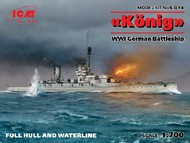ICM Models  1/700 WWI German Konig Battleship ICMS014