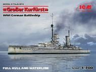 ICM Models  1/700 WWI German Grosser Kurfurst Battleship ICMS015