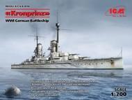 ICM Models  1/700 WWI German Battleship Kronprinz ICMS016