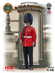 ICM Models  1/16 British Queen's Guards Grenadier ICM16001