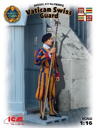 ICM Models  1/16 Vatican Swiss Guard ICM16002