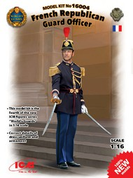 ICM Models  1/16 French Republican Guard Officer ICM16004
