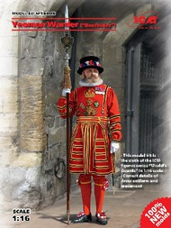 ICM Models  1/16 Yeoman Warder (Beefeater) Guard ICM16006