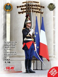ICM Models  1/16 French Republican Guard Cavalry Regiment Corporal (New Tool) ICM16007