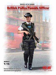 ICM Models  1/16 British Police Female Officer (New Tool) ICM16009