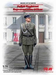 ICM Models  1/16 Polish Regiment Representative Officer (100% new molds) NEW - IV quarter ICM16010