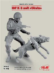 ICM Models  1/16 IDF K9 Unit OKETZ Female Soldier w/Dog (New Tool) ICM16102