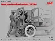American Gasoline Loaders 1910's (2) (New Tool) #ICM24018
