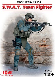 ICM Models  1/24 SWAT Team Fighter (New Tool) ICM24101