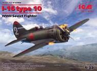 WWII Soviet I-16 Type 10 Fighter #ICM32004