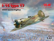 Polikarpov I-16 type 17, WWII Soviet Fighter #ICM32005