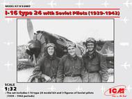 Polikarpov I-16 type 24 with Soviet Pilots (1939-1942) #ICM32007