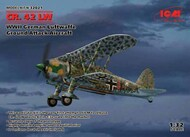 Fiat CR.42 LW , WWII German Luftwaffe Ground Attack Aircraft (100% new molds) NEW - III quarter - Pre-Order Item #ICM32021