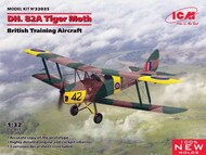 DH-82A Tiger Moth British Training Aircraft (New Tool) #ICM32035