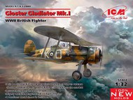 WWII British Gloster Gladiator Mk I Fighter (New Tool) (DEC) ICM32040
