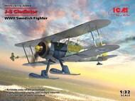 Gloster J-8 Gladiator, WWII Swedish Fighter #ICM32044