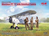 Stearman PT-17 with American Cadets NEW - III quarter - Pre-Order Item #ICM32051