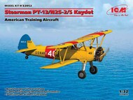 ICM Models  1/32 Stearman PT-13/N2S-2/5 Kaydet, American Training Aircraft NEW - IV quarter - Pre-Order Item ICM32052