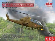 ICM Models  1/32 Bell AH-1G Cobra (early production), US Attack Helicopter (100% new molds) NEW - II quarter - Pre-Order Item ICM32060