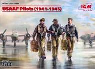 ICM Models  1/32 USAAF Pilots 1941-1945 (3) (New Tool) ICM32104
