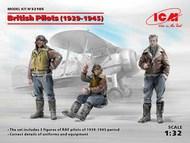 British Pilots 1939-1945 (3) (New Tool) #ICM32105