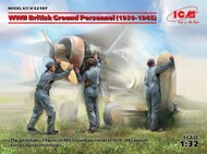WWII British Ground Personnel 1939-1945 (3) (New Tool) (APR) ICM32107