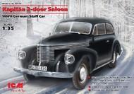 ICM Models  1/35 WWII German Kapitan 2-Door Saloon Staff Car (D)<!-- _Disc_ --> ICM35476
