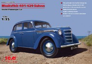 ICM Models  1/35 WWII Soviet Moskvitch 401/420 Saloon Passenger Car (D)<!-- _Disc_ --> ICM35479