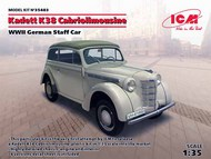 WWII German Kadett K38 Convertible Staff Car #ICM35483