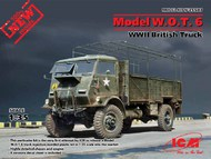 WWII British Model WOT 6 Truck (New Tool) - Pre-Order Item #ICM35507