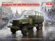 Studebaker US6 with WWII Soviet Drivers #ICM35510