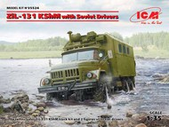 Soviet ZiL-131 KShM with Soviet Drivers #ICM35524