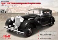 ICM Models  1/35 WWII German Type 770K Leader Tourenwagon Convertible (D)<!-- _Disc_ --> ICM35534