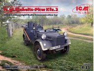 WWII German le.gl.Einheitz PkwKfz 2 Light Radio Car ICM35583