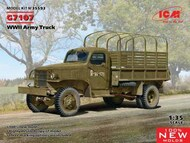 G7107, WWII Army Truck (100% new molds) #ICM35593