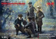 ICM Models  1/35 WWII Soviet Partisans (4) (D)<!-- _Disc_ --> ICM35631
