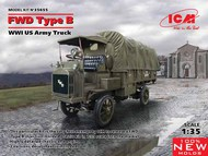 WWI US FWD Type B Army Truck (New Tool) #ICM35655