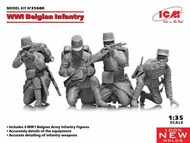 WWI Belgian Infantry (100% new molds) NEW - III quarter #ICM35680