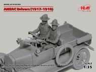 ICM Models  1/35 ANZAC Drivers 1917-1918 (2) (New Tool) ICM35707