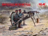 WWI German MG08 MG Team (2) (New Tool) #ICM35711