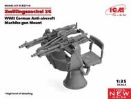 Zwillingssockel 36, WWII German Anti-aircraft Machihe gun Mount #ICM35714