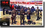 ICM Models  1/48 Soviet Air Force Pilots and Ground Personnel (1943-1945) ICM48084