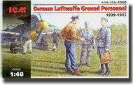 ICM Models  1/48 German Luftwaffe Ground Personnel (1939-1945) ICM48085